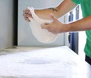 Hacer pasta de la pizza