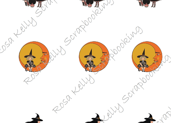 Witches Cupcake/Treat Toppers