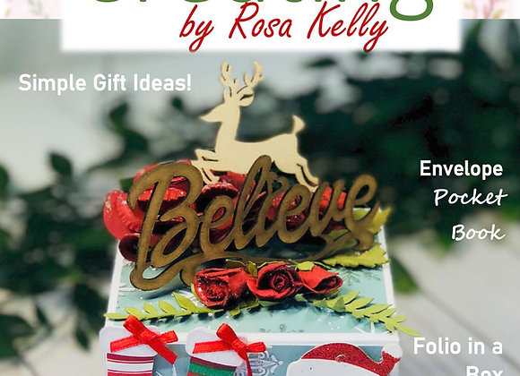 Creating by Rosa Kelly Magazine Vol 2 - Special Edition Christmas in July