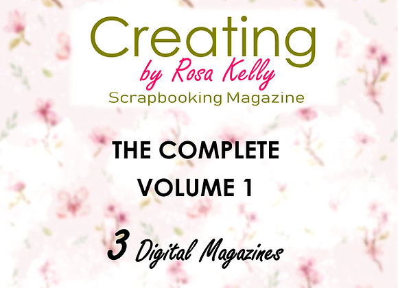 Complete Vol 1 - Creating by Rosa Kelly