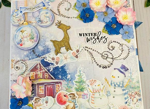 Winter Wonderland Box Album Video Class