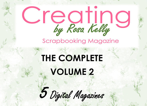 Complete Vol 2 - Creating by Rosa Kelly