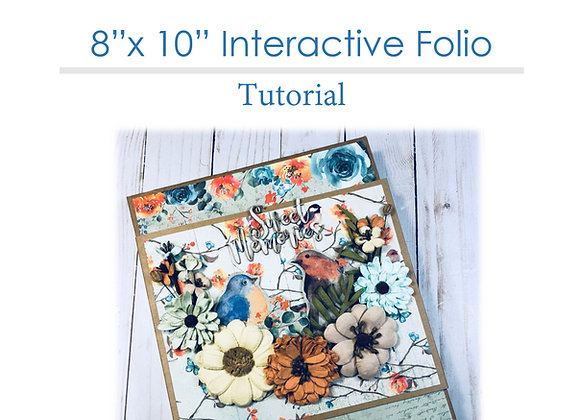 8x10 Interactive Folio Tutorial