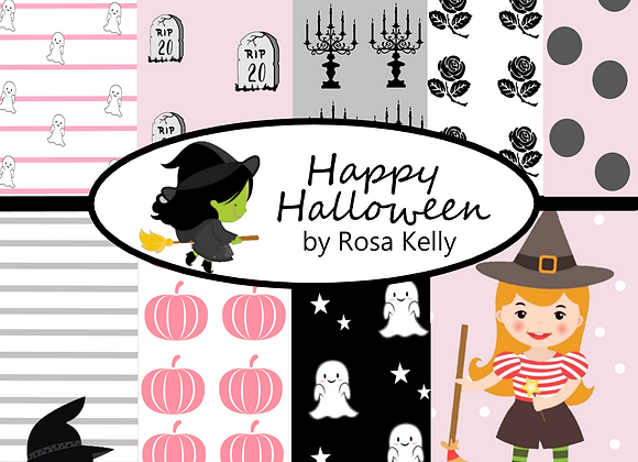 Happy Halloween Paper Collection