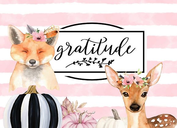 Gratitude Fall Collection
