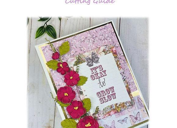Lavender Mini Album Cutting Guide
