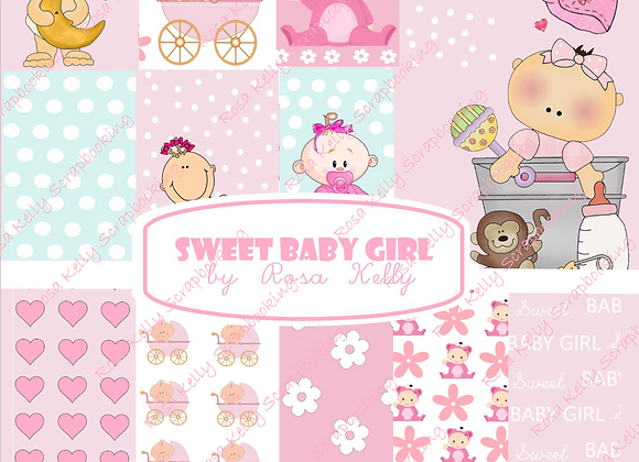 Sweet Baby Girl Paper Collection
