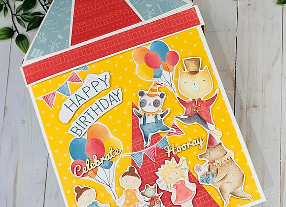 Happy Birthday Circus Book Video Class