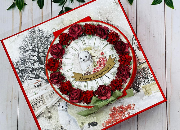 Frozen Roses Advent Calendar Album Video Class