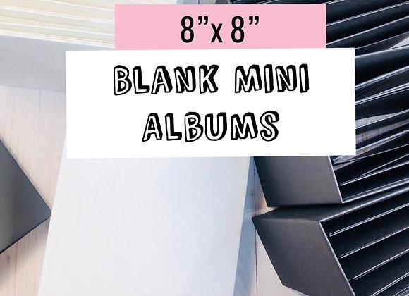 8x8 Blank Mini Album
