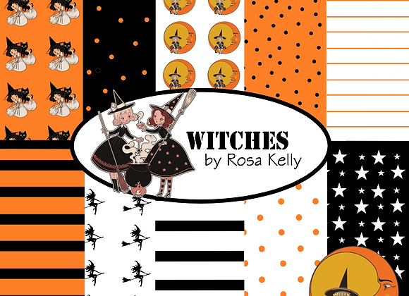 Witches Paper Collection
