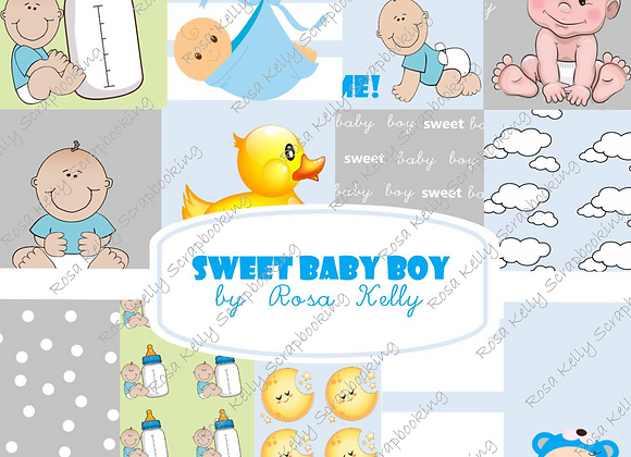 Sweet Baby Boy Paper Collection