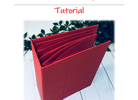 Christmas Mini Album Tutorial