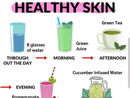 Drink Menu For Healthy Skin