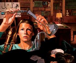 Nancy Drew #165--The Crime Lab Case