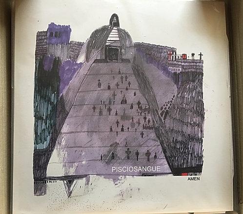 """LP 12"""" + CD - Pisciosangue - """"Amen"""""""