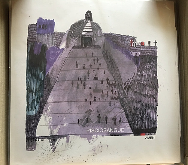 "LP 12"" + CD - Pisciosangue - ""Amen"""