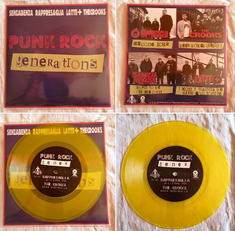 """PUNK ROCK GENERATIONS"" - Vinyl 7"" Split"