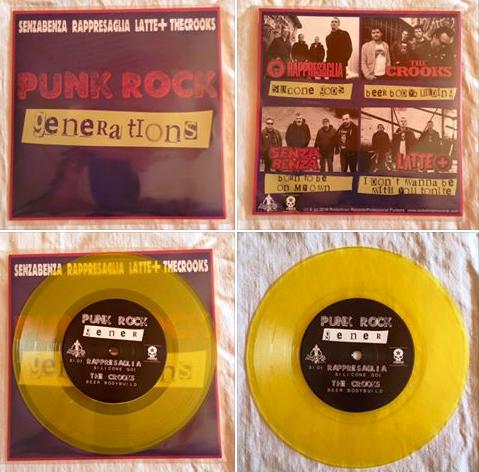 """PUNK ROCK GENERATIONS"" - Vinyl 7"" Split"