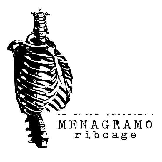 """Menagramo """"Ribcage"""" CD - 2020 (PP015CD)"""