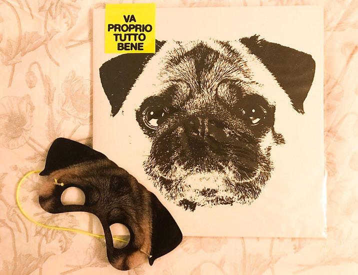 """PAY """"Va Proprio Tutto Bene"""" - LP 12"""" Color Album 2020 + Pug mask"""