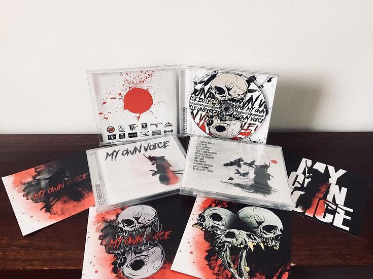 """My Own Voice - """"Exile Underground"""" - CD 2020"""