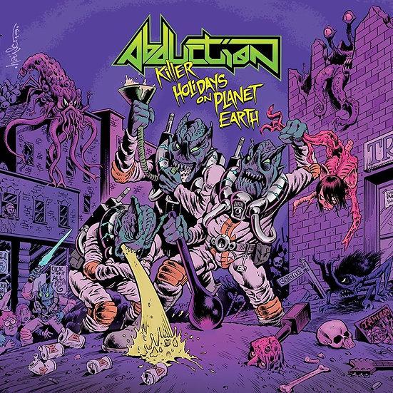 "Abduction - LP 12"" - Color Vinyl ""Killer Holidays On Planet Hearth"""
