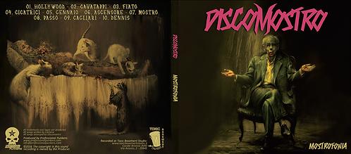 """Discomostro - """"Mostrofonia"""" (Physical CD)"""