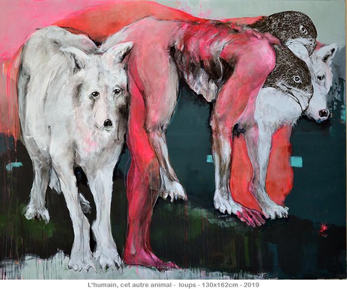 L'humain, cet autre animal - Loups - ©2020danielle burgart