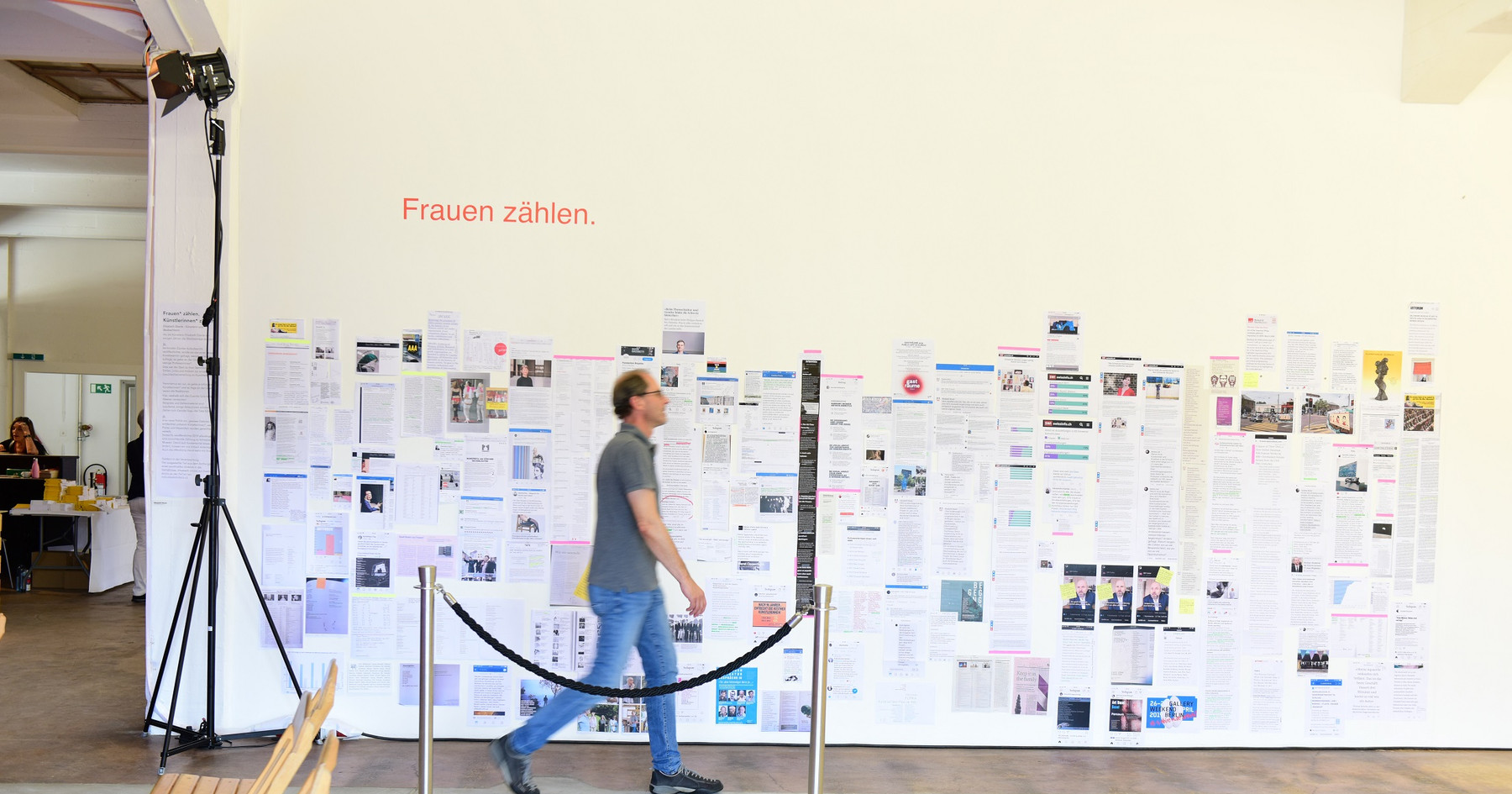 """Elisabeth Eberle, Archiv """"Frauen Zählen"""""""
