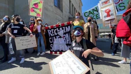 Demo #Reclaim Cultural Surplus: We want change!