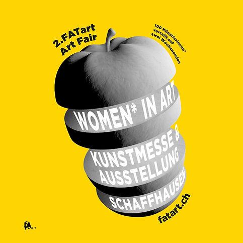 """FATart Fair 2019 Kunstmesse-Publikationen """"Women* in Art"""""""