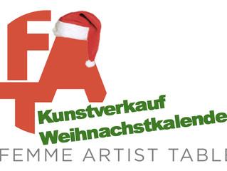 Online Kunst-Weihnachtskalender: 1.– 25. Dezember 2020