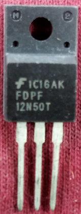 FDPF12N50T