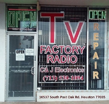 Factory Radio Repair, cjelectronicsinc.com