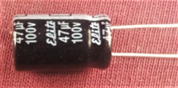 47mF 100V