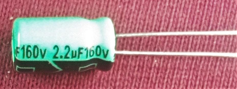 2.2mF 160V