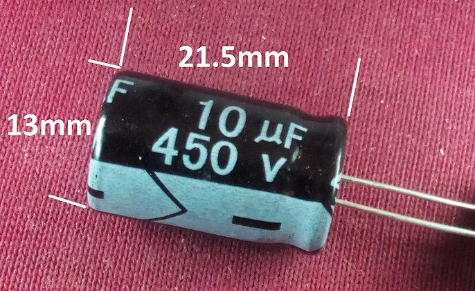 10mF 450v