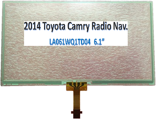 2014 Toyota Camry Radio Nav.