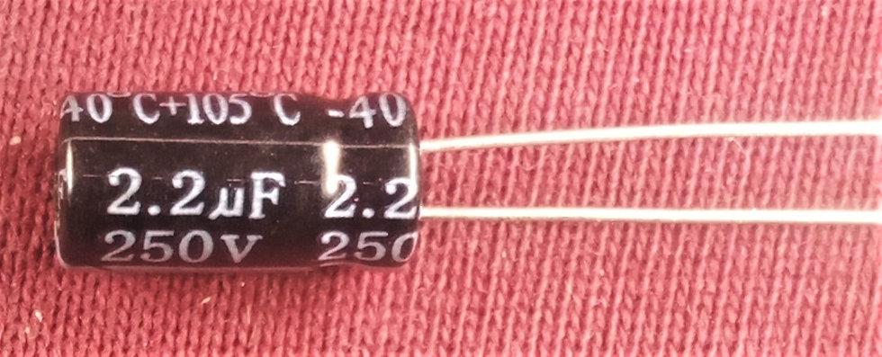 2.2mF 250V