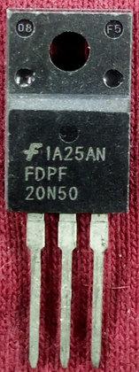 FDPF20N50