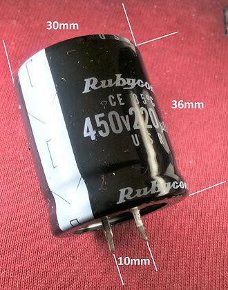 220mF 450v