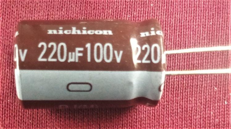 220mF 100v  Cafes