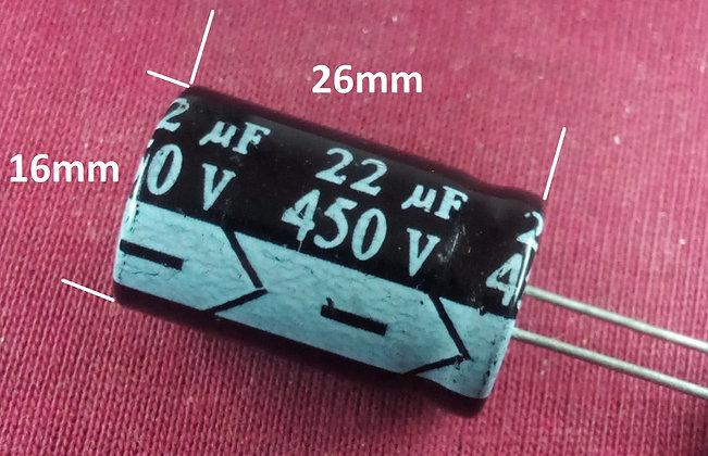 22mF 450v