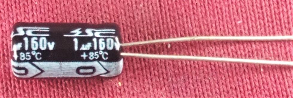 1mF 160V