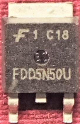 FDD5N50U