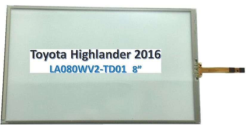 Toyota Highlander Touch Screen