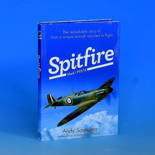 Spitfire MkI P9374 Signed