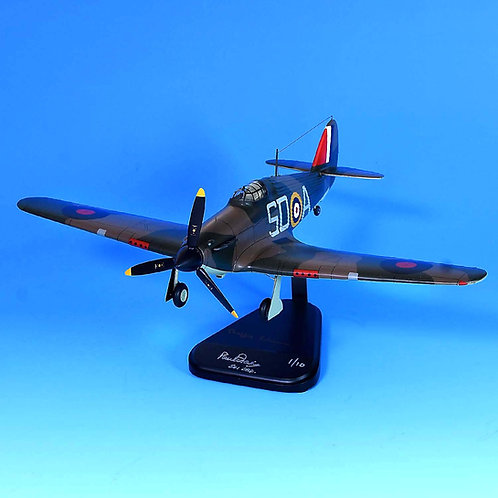 Mahogany SD-A Signed by 2 Battle of Britain Pilots