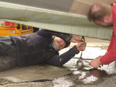 Generous gesture saves big repair bill